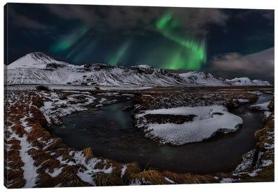 Icelandic Horseshoe Bend Canvas Art Print