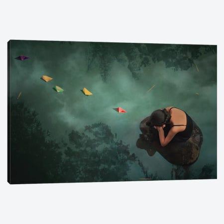 Paper Boat Canvas Print #OXM3621} by Jay Satriani Canvas Art Print