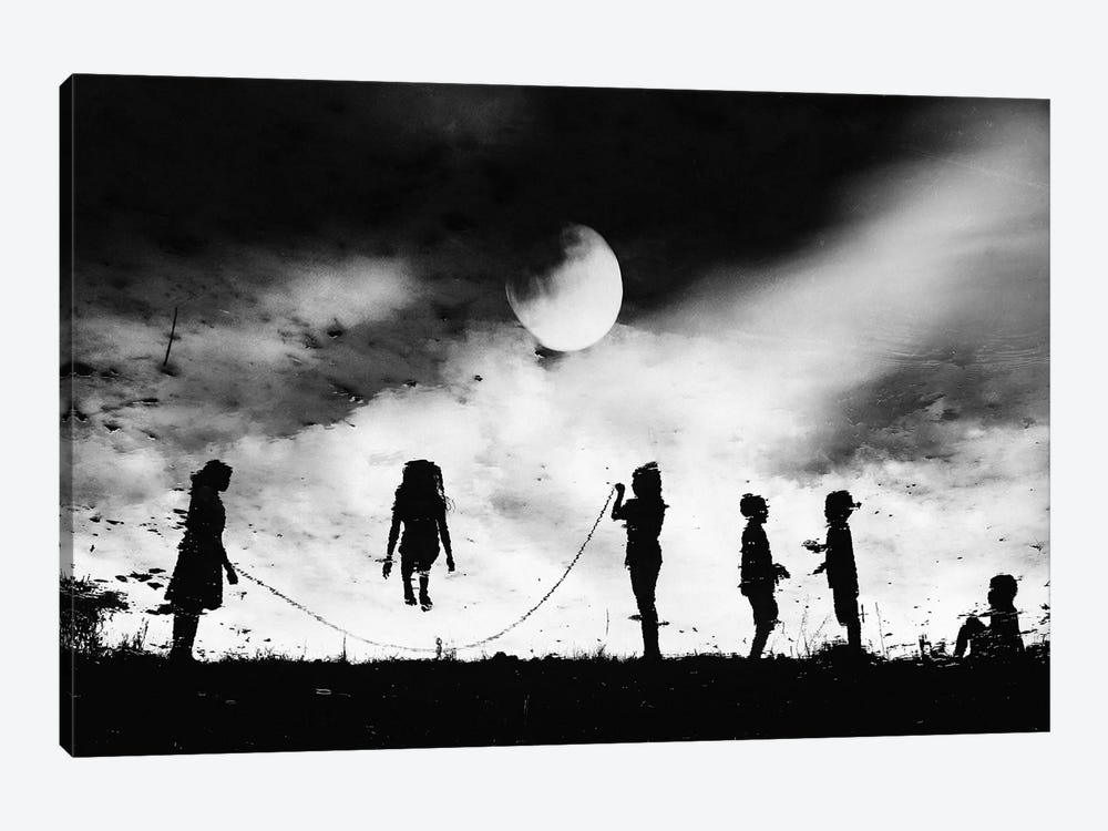 The Game High Jump by Jay Satriani 1-piece Canvas Print