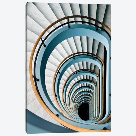Black Hole Canvas Print #OXM3625} by Jef Van den Houte Canvas Art