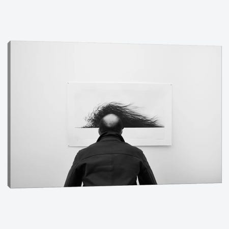 Wig 3-Piece Canvas #OXM3657} by Jorge Pena Canvas Art Print