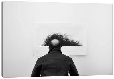 Wig Canvas Art Print