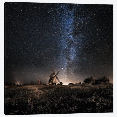 Galaxy Rising Canvas Print #OXM3658} by Jörgen Tannerstedt Canvas Art