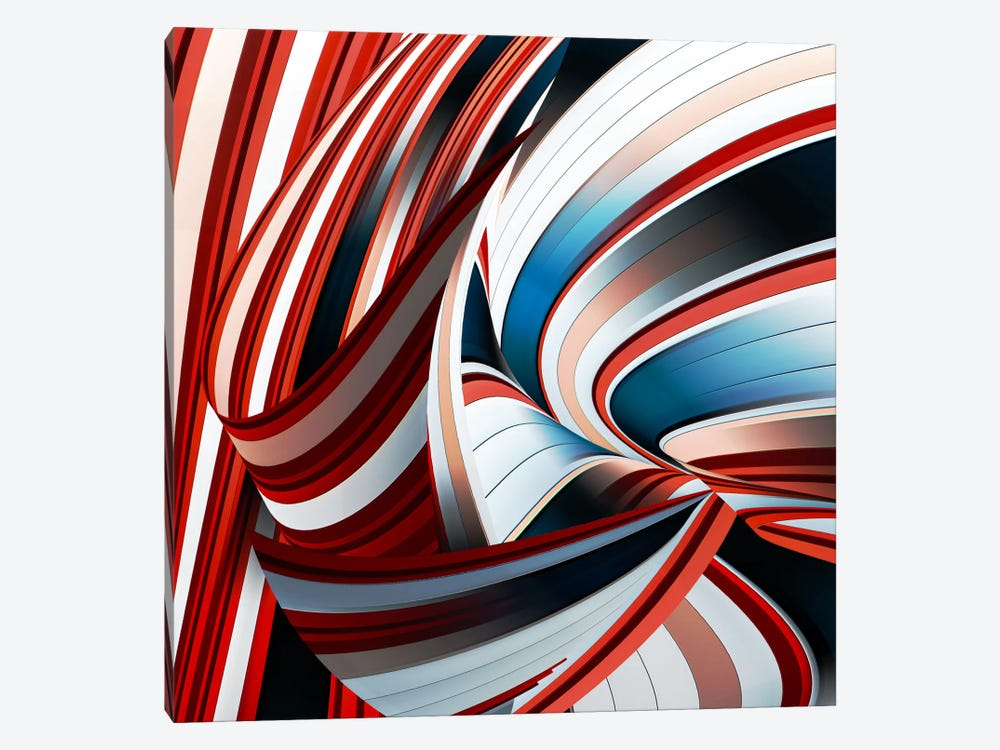 Passione Annodata by Gilbert Claes 1-piece Canvas Art