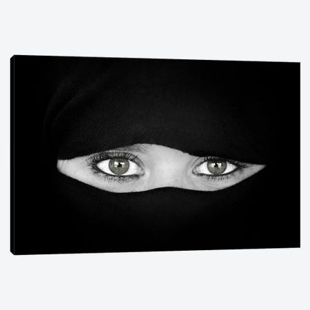 The Language Of The Eyes Canvas Print #OXM3666} by Juan Luis Duran Canvas Wall Art
