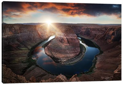 Horseshoe Bend Canvas Art Print
