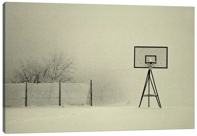 Winter Playground Canvas Art Print