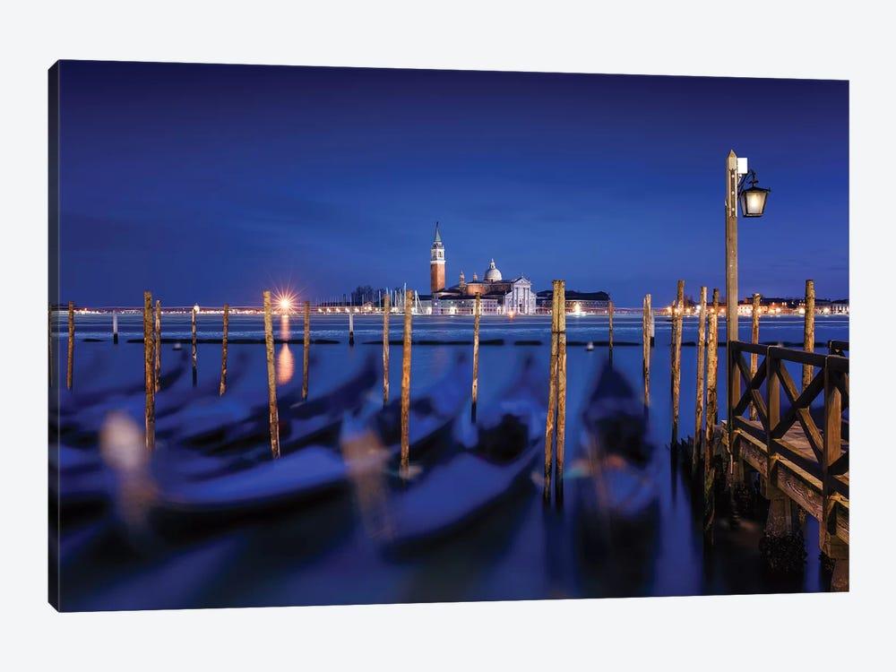 San Giorgio Maggiore Island, Venice by Karen Deakin 1-piece Art Print