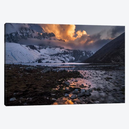 Gokyo Fire 3-Piece Canvas #OXM3682} by Karsten Wrobel Canvas Art Print