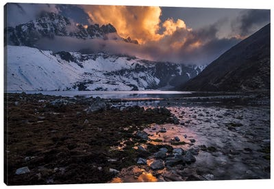 Gokyo Fire Canvas Art Print