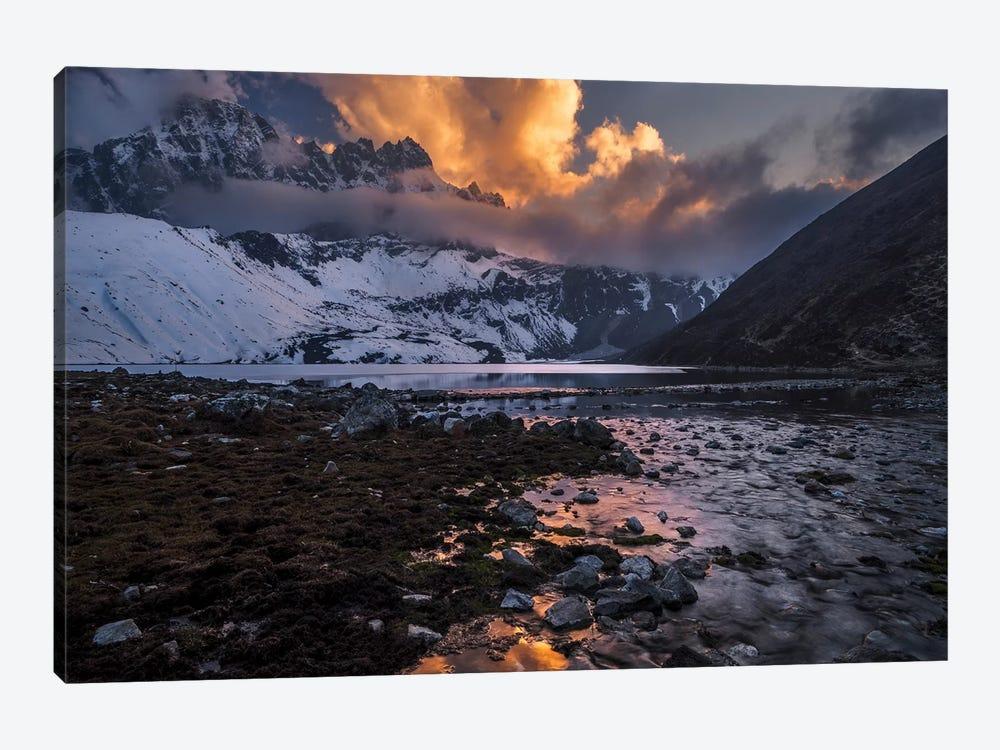 Gokyo Fire by Karsten Wrobel 1-piece Canvas Art Print