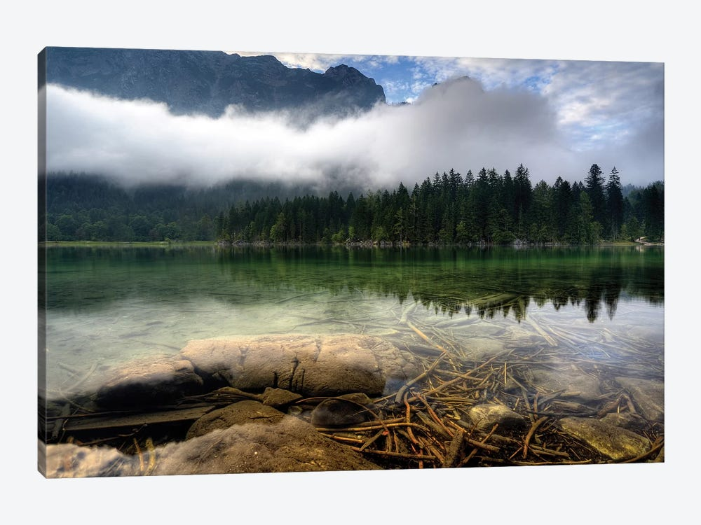 Mountain Lake 1-piece Canvas Art