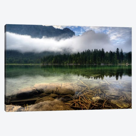 Mountain Lake Canvas Print #OXM3696} by keller Canvas Print