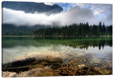 Mountain Lake Canvas Art Print