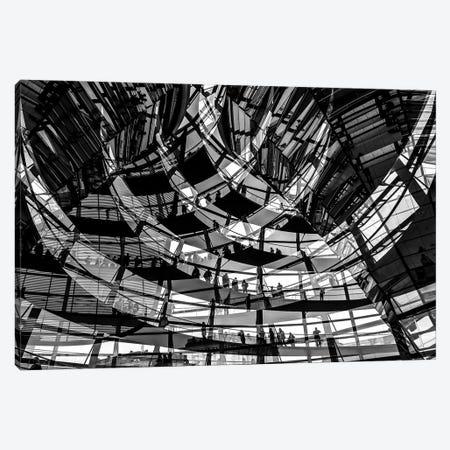 Visitors Canvas Print #OXM3705} by Klaus Lenzen Canvas Art Print