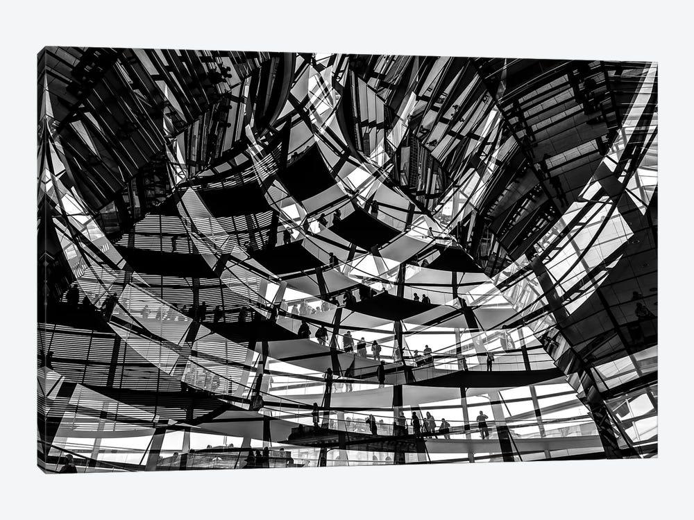 Visitors by Klaus Lenzen 1-piece Canvas Print