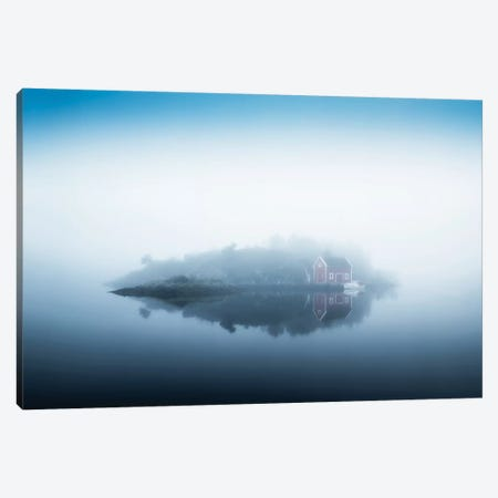 Free Falling Canvas Print #OXM3720} by Lars Arvid Hellebø Canvas Artwork