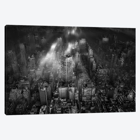 New York City Canvas Print #OXM3731} by Leif Løndal Art Print