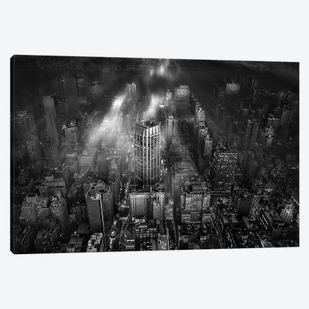New York City Canvas Print #OXM3731} by Leif Londal Art Print