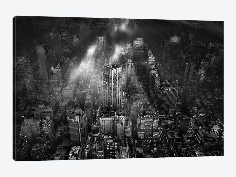 New York City by Leif Londal 1-piece Canvas Artwork