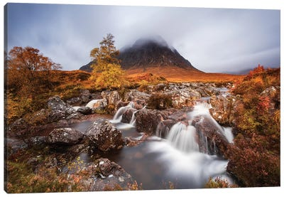 Autumn In The Glencoe Canvas Art Print