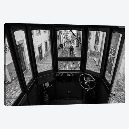 Life In Bica Canvas Print #OXM3753} by Luis Sarmento Art Print