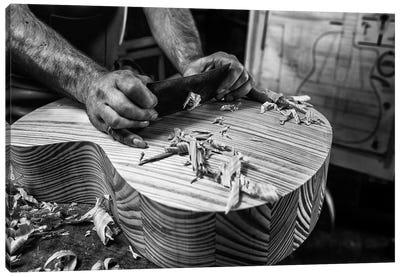 Le Luthier Canvas Art Print