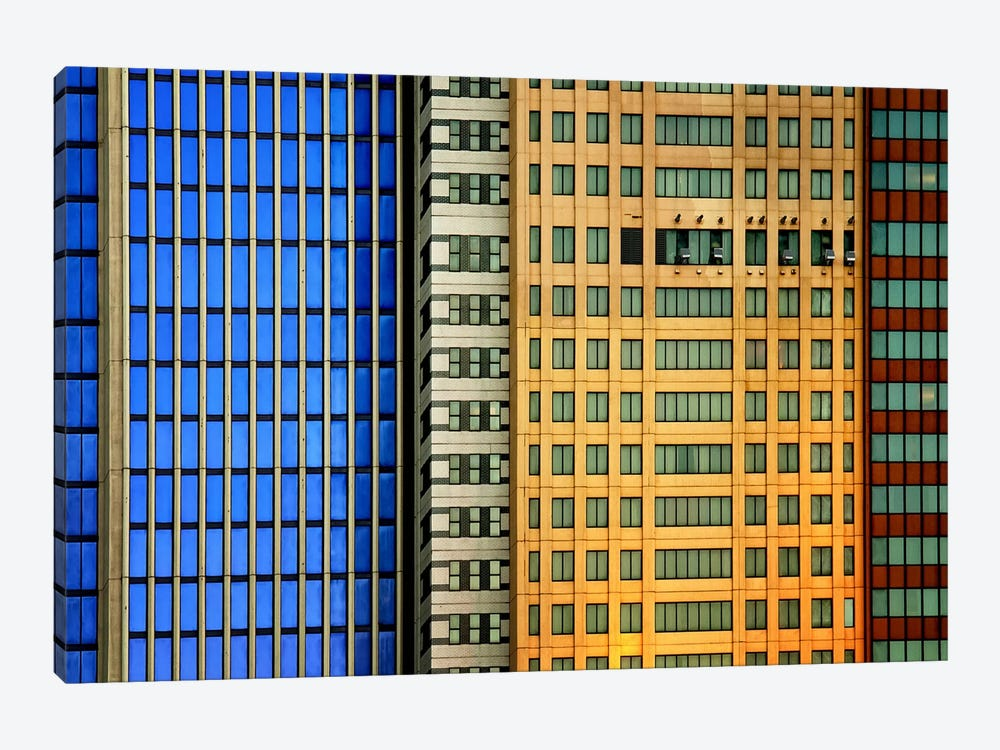 Windows On The City 1-piece Canvas Art Print