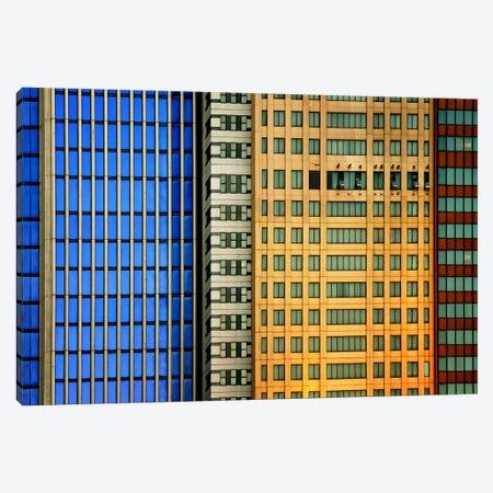 Windows On The City Canvas Print #OXM377} by Mathilde Guillemot Canvas Print