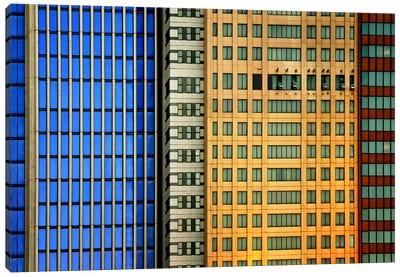 Windows On The City Canvas Art Print
