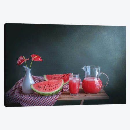 Refreshing Canvas Print #OXM3780} by Margareth Perfoncio Canvas Art