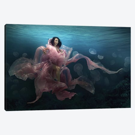 The Bloom Goddess Canvas Print #OXM3800} by Martha Suherman Art Print