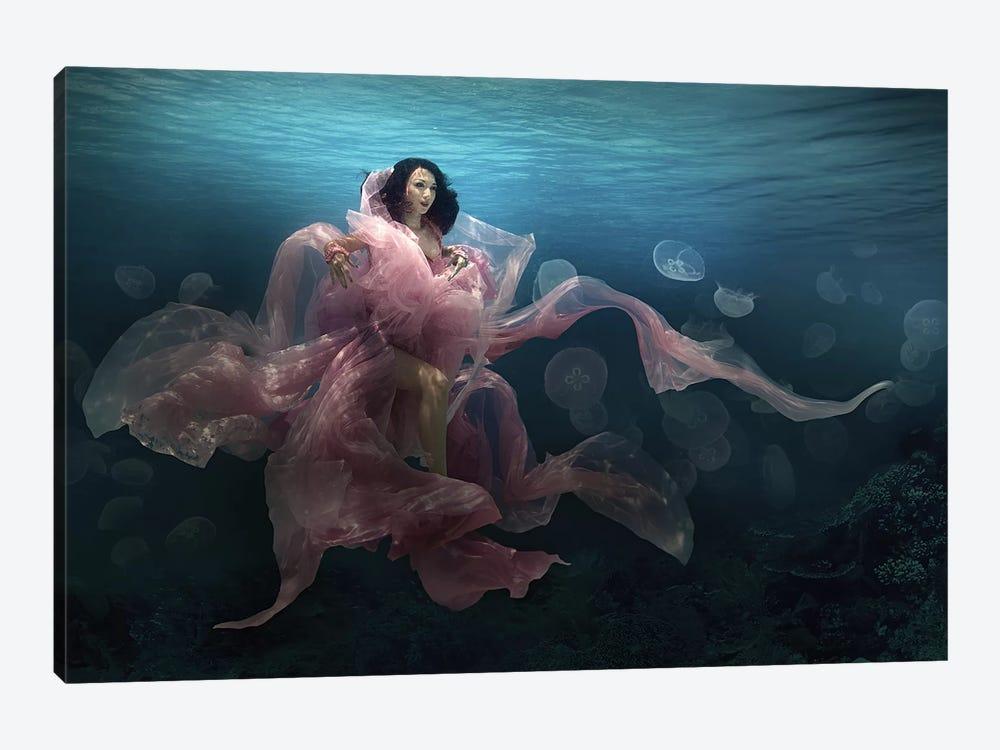 The Bloom Goddess by Martha Suherman 1-piece Canvas Art