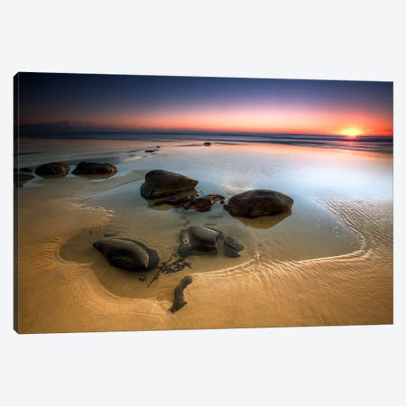 Coffee Rocks Canvas Print #OXM3829} by Mel Brackstone Art Print
