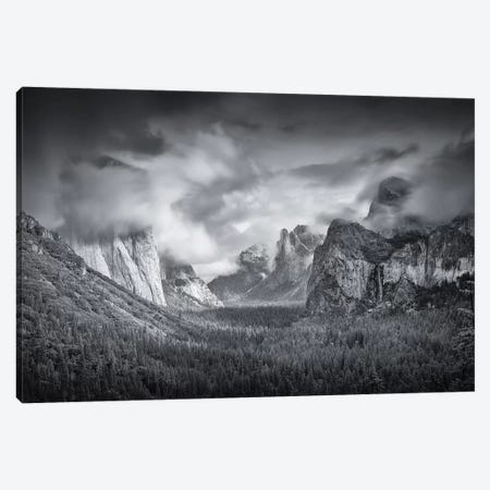 Yosemite Valley 3-Piece Canvas #OXM3842} by Mike Leske Canvas Art Print