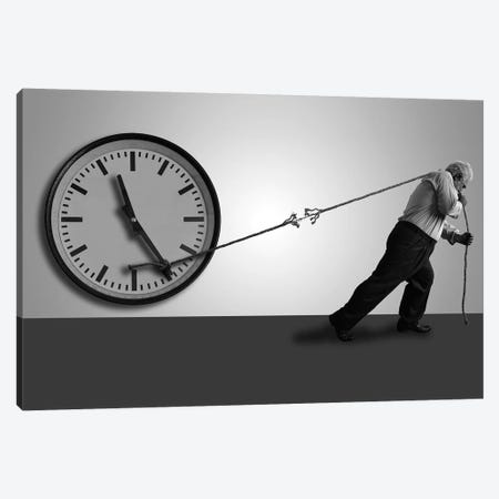 Stop The Time Canvas Print #OXM3865} by Nader Farid Canvas Art