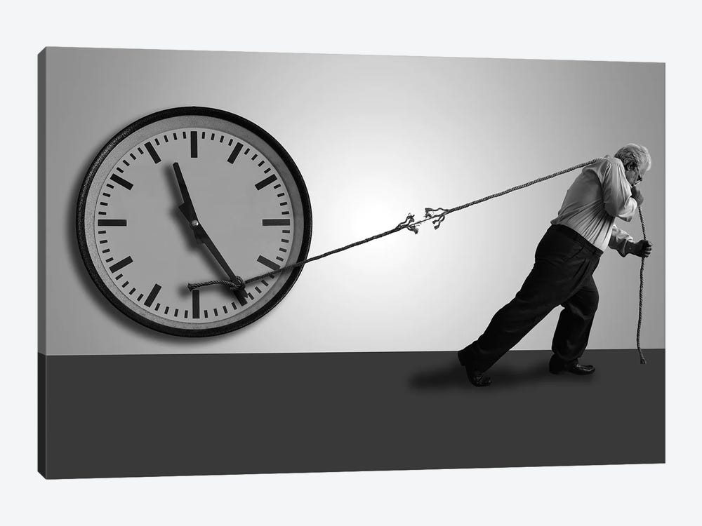 Stop The Time by Nader Farid 1-piece Art Print