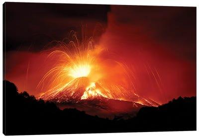 Monte Etna Canvas Art Print