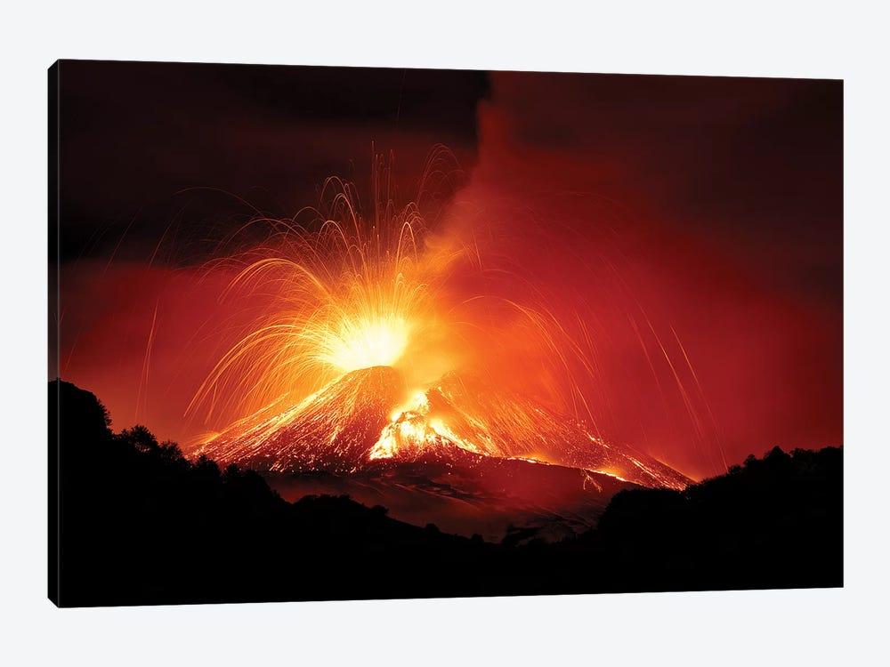 Monte Etna by Nicolo Parasole 1-piece Canvas Art