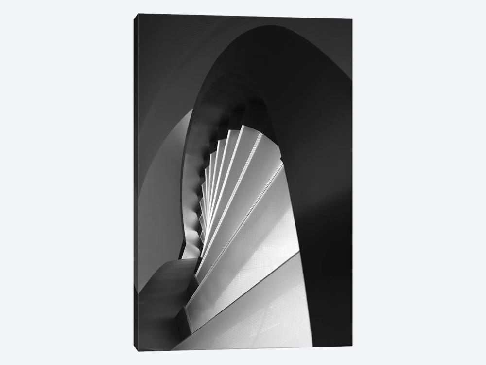 Straight And Curves Lines by Olavo Azevedo 1-piece Canvas Print
