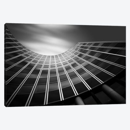 The Wave Canvas Print #OXM3896} by Olivier Schwartz Art Print