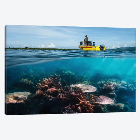 Second Dive Canvas Print #OXM3914} by Pavol Stranak Canvas Wall Art