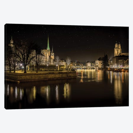 Zurich Canvas Print #OXM3929} by Petros Mitropoulos Canvas Art
