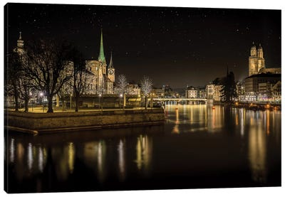 Zurich Canvas Art Print