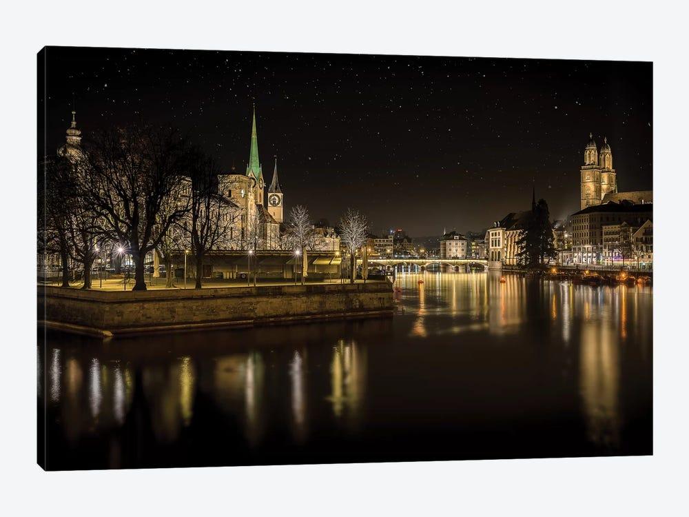 Zurich by Petros Mitropoulos 1-piece Canvas Artwork