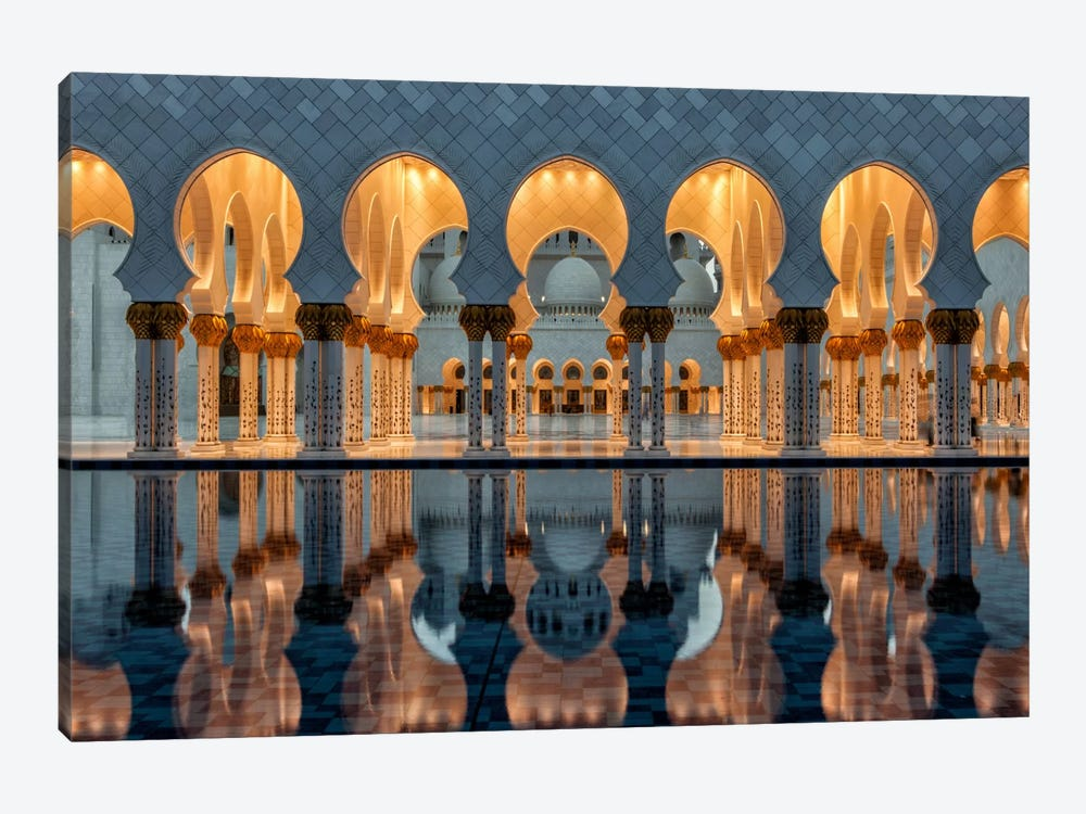 Reflections by Stefan Schilbe 1-piece Canvas Art