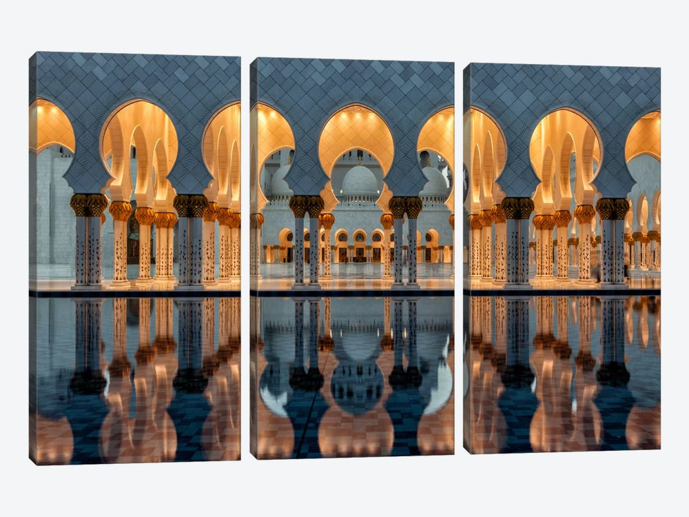 Reflections by Stefan Schilbe 3-piece Canvas Wall Art