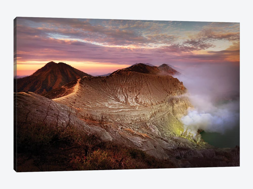 Jupiter's Sulphur Mines 1-piece Canvas Wall Art