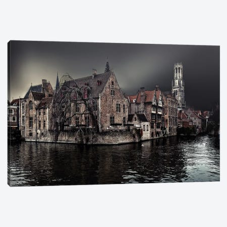 The Darkness Of Winter Cold Canvas Print #OXM3946} by Piet Flour Art Print