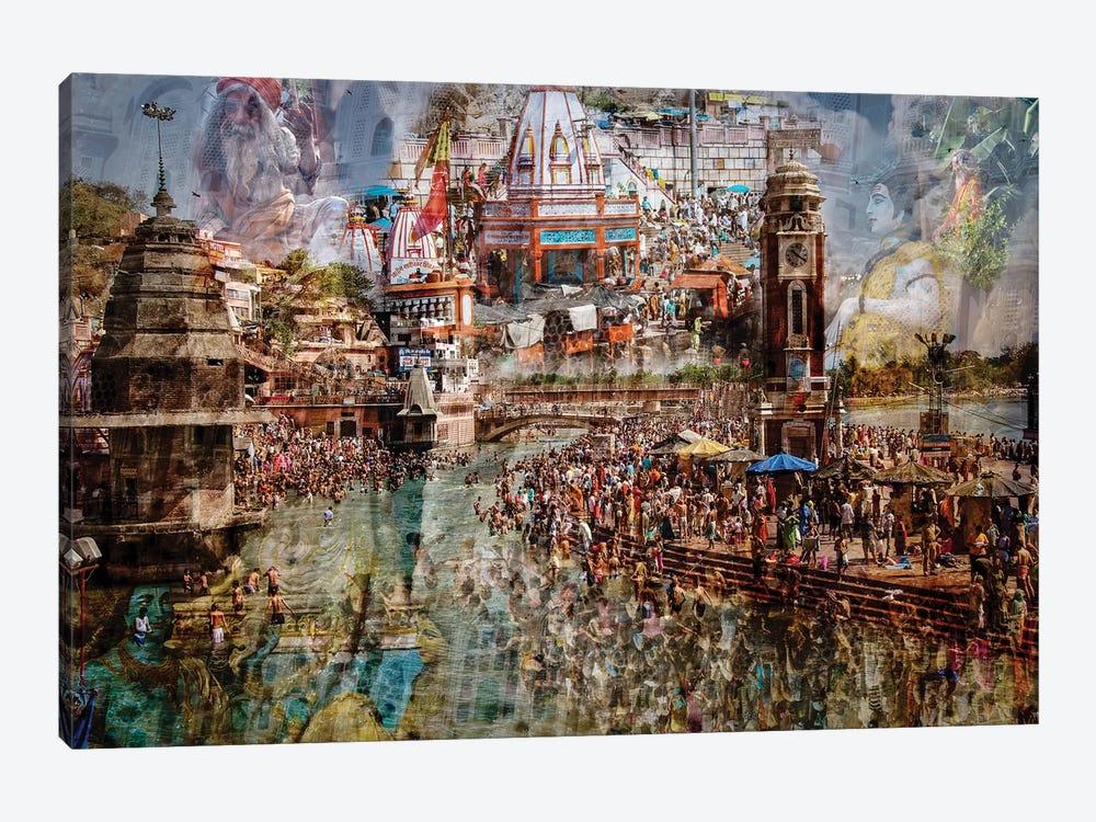 Holy India by Ralf Kayser 1-piece Canvas Wall Art